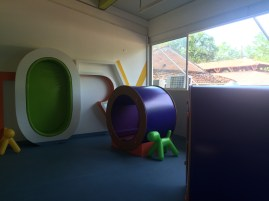 Part of the library for the primary school students