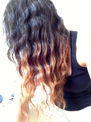 Brazilian natural wave | Ombre