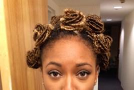 Sister Loc Bantu Knots