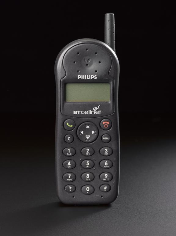 Philips 'Savvy' mobile telephone, 1999-2003 | Science Museum Group  Collection