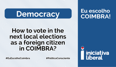 How to vote in the next local elections as a foreign citizen in COIMBRA