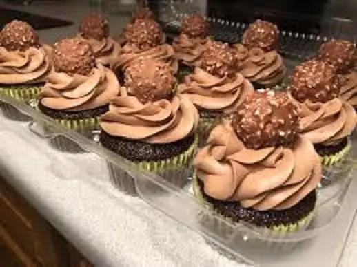 cupcake chocolat et nutella