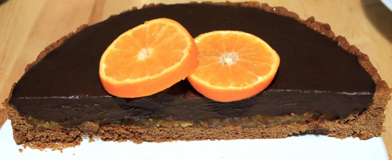 tartelette -clementine -chocolat