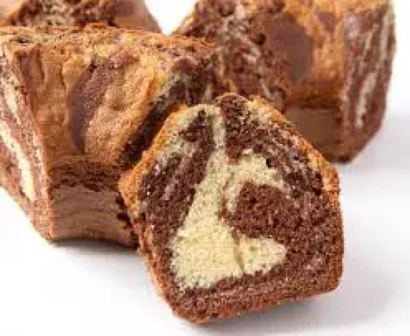 Cake -marbré