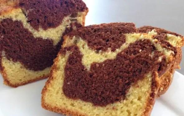 Cake- Marbré- au- Chocolat