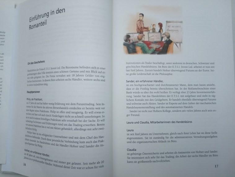 Markttechnik Trading nach Michael Voigt Buch Romanteil