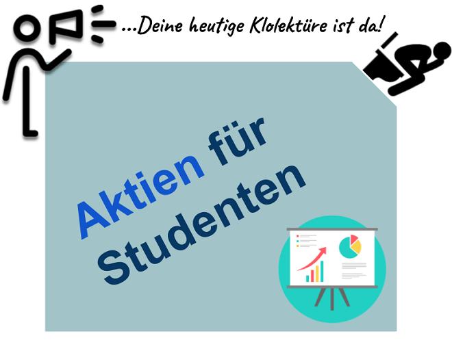 Aktien für Studenten