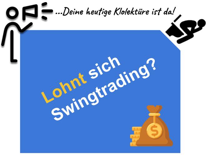 Lohnt sich Swing Trading