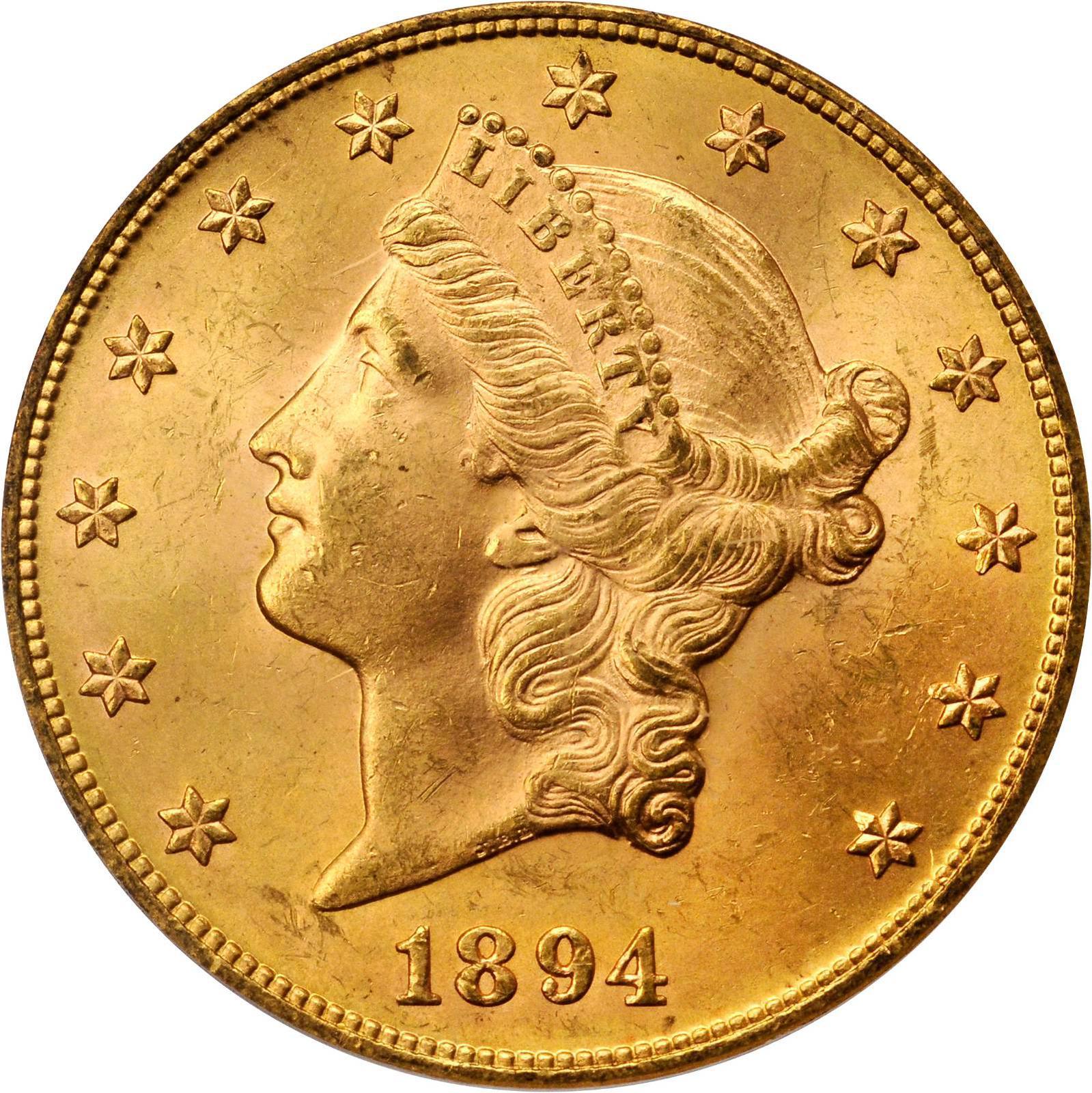 Value Of 20 Liberty Double Eagle