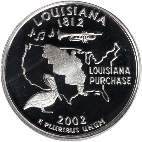 2002 Louisiana State Quarter | Sell Silver State Quarters
