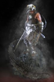 Dragonborn Statue Gaming Heads