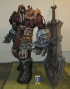 War Darksiders papercraft statue