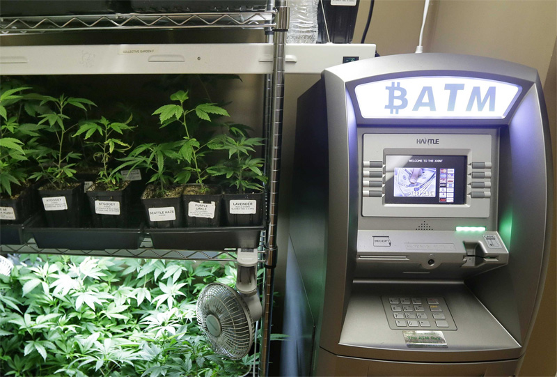 Bitcoin ATM for Cannabis Industry