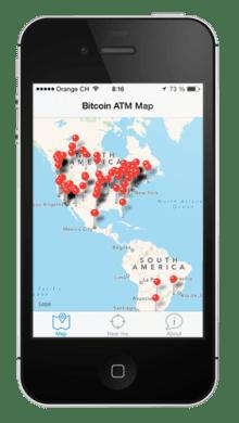 Coin ATM Radar iPhone App