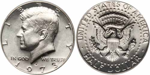 1971 And 1972 Kennedy Half Dollar Value Chart