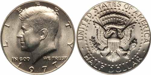 1971 Kennedy Silver Dollar Value