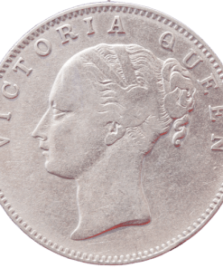 One Rupee 1840 Continuous Legend Victoria Queen East India Company