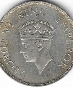 1 Rs 1940 Very Rare Coin - British Raj - George Vi Coin - Must Add in your Collection #3