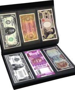 Currency Note Collection Album - 48 Notes Space
