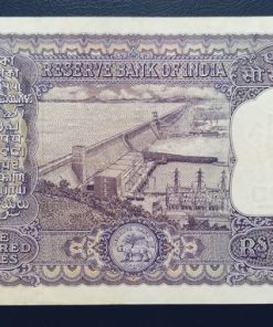 100 Rupees of Reserve Bank of India signed by P C Bhattacharya - Rare DAM Issue Note High Grade Note
