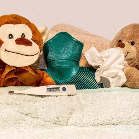 Les deux maladies fréquentes des enfants