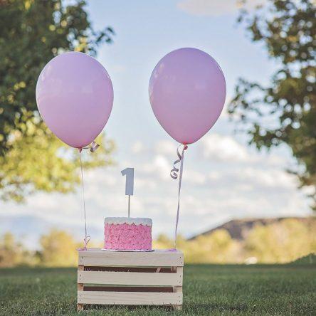 Le premier anniversaire de bébé