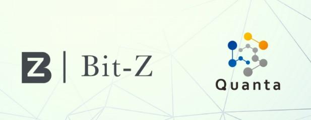Bit-Z(ビットジー)に上場したクオンタ(Quanta/QNTU)の特徴