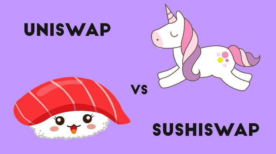 SushiSwap vs. Uniswap
