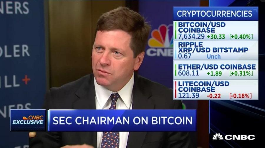 SEC Chairman Bitcoin