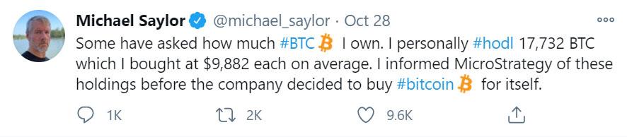 Michael Saylor Bitcoin Future