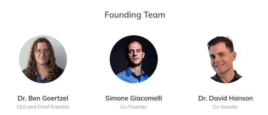 SingularityNET Founding Team