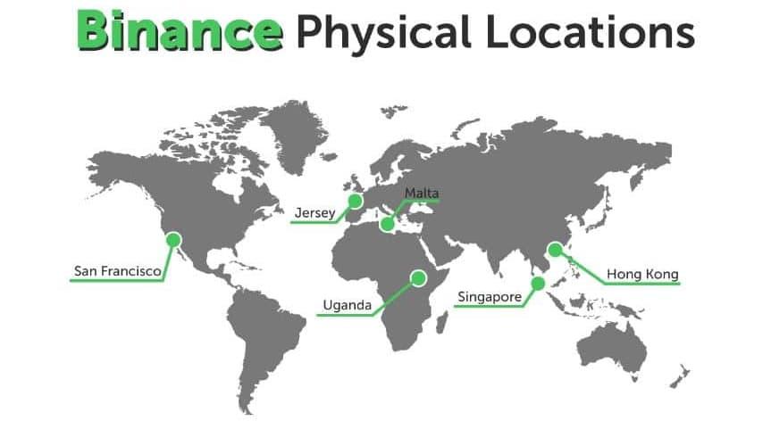 Binance Offices