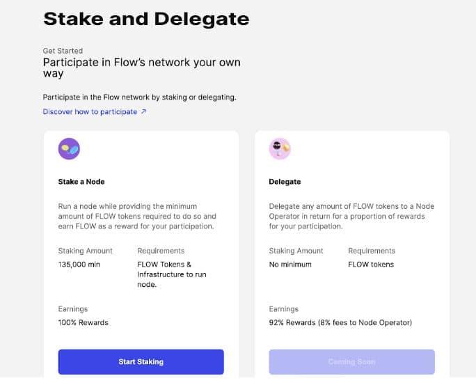 Stake Delegate