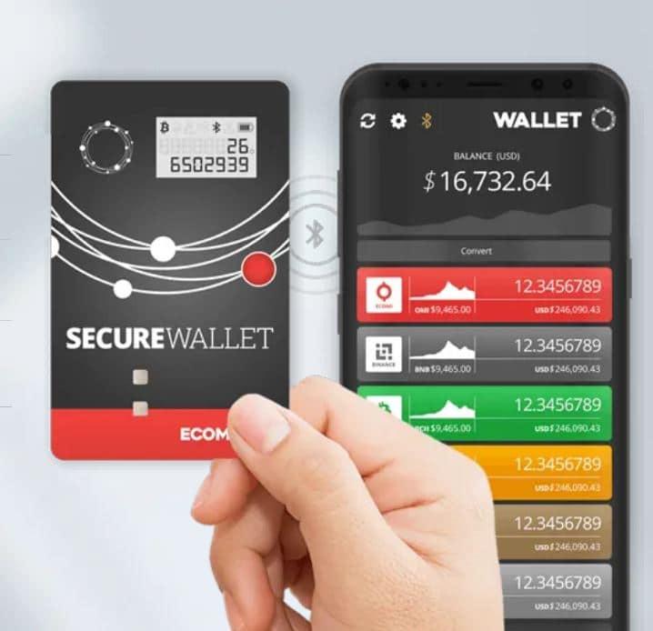 ECOMI Secure Storage Wallet