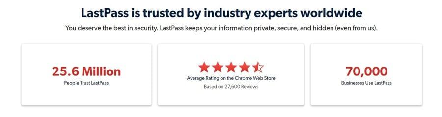 LastPass Trust