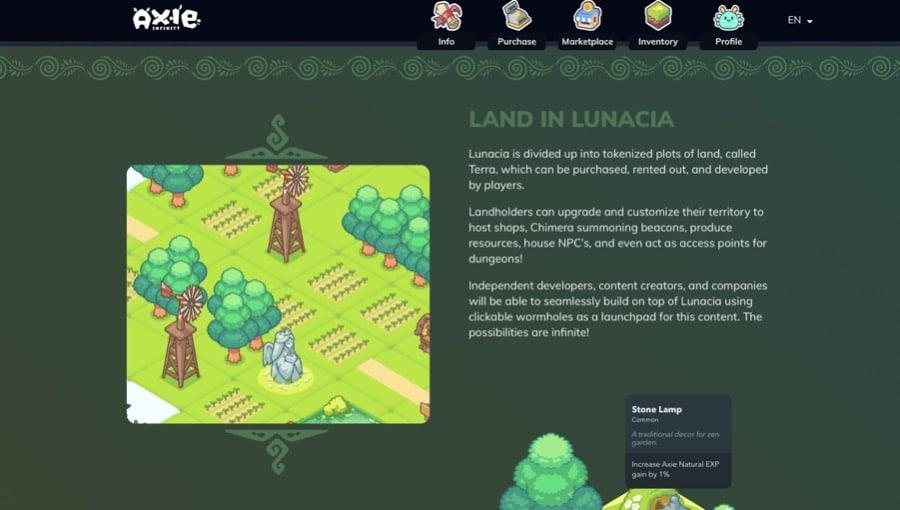 Lunacia Land Plots
