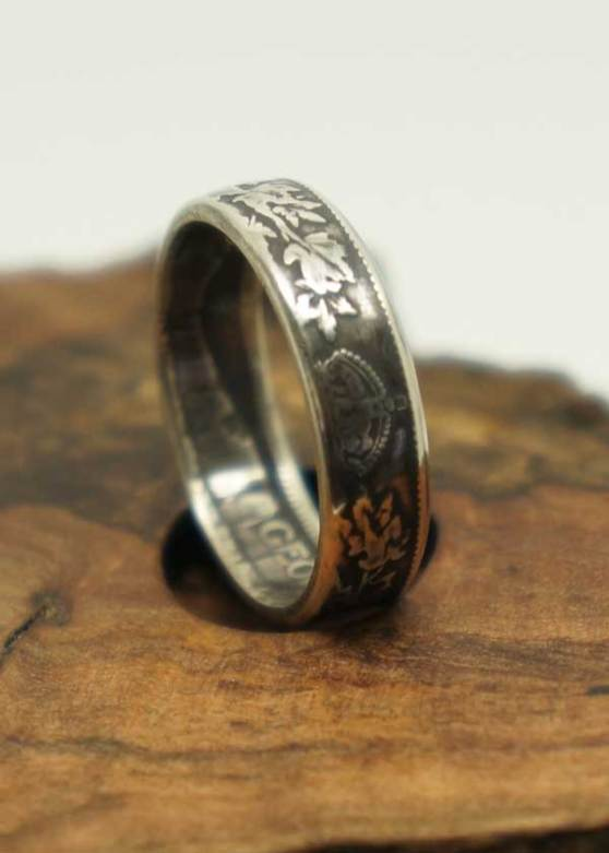 1931-Canadian-25-cents-coin-ring-4