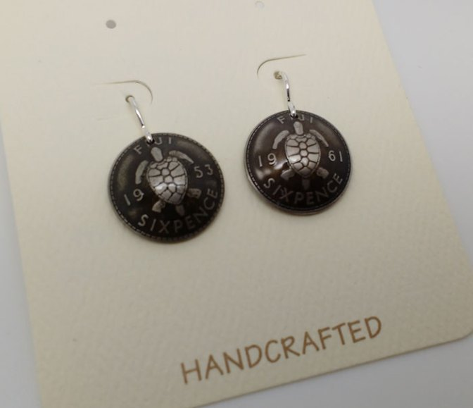 1953-fiji-six-pence-coin-earrings-domed-2