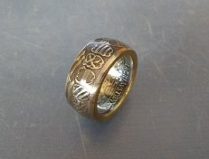 Medieval-coin-ring-coat-of-arms-pruss-1