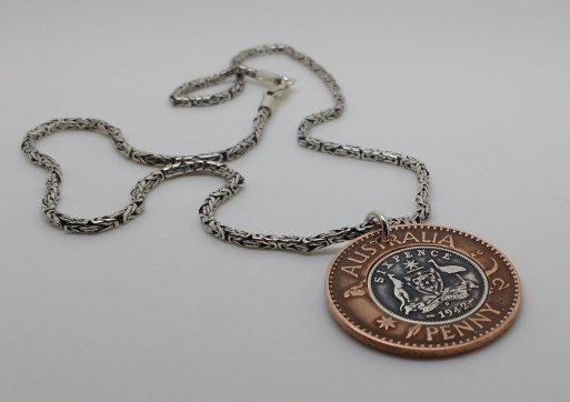 1942-Australia-Penny-six-pence-pendant-1