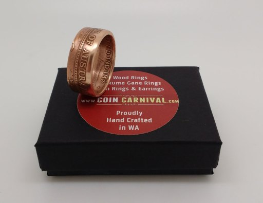 1933-Australian-One-Penny-Coin-Ring-Coin-Carnival-7