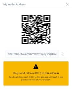 coinbase wallet address