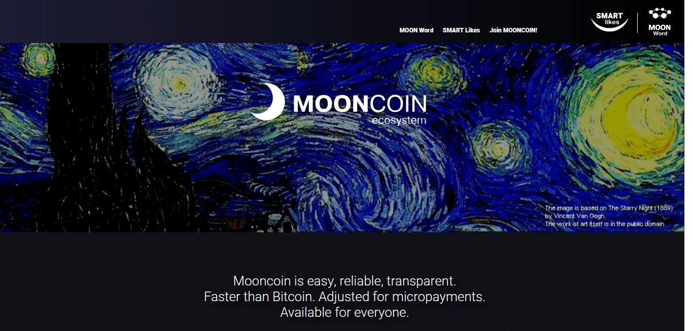 MoonCoin altcoin
