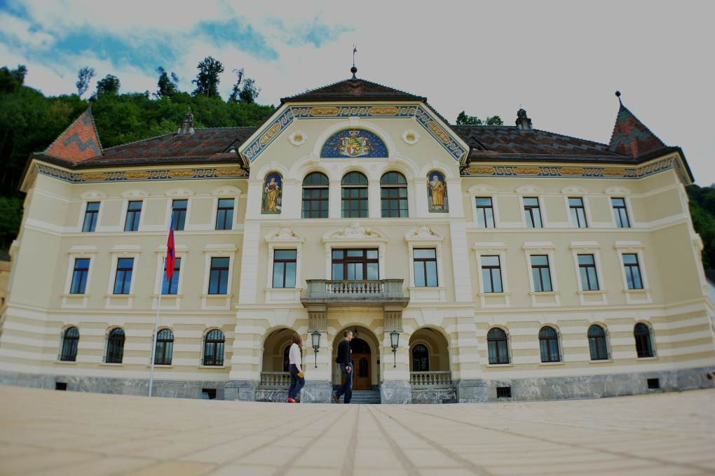 Liechtenstein government building