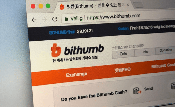 Bithumb was also hacked in June.