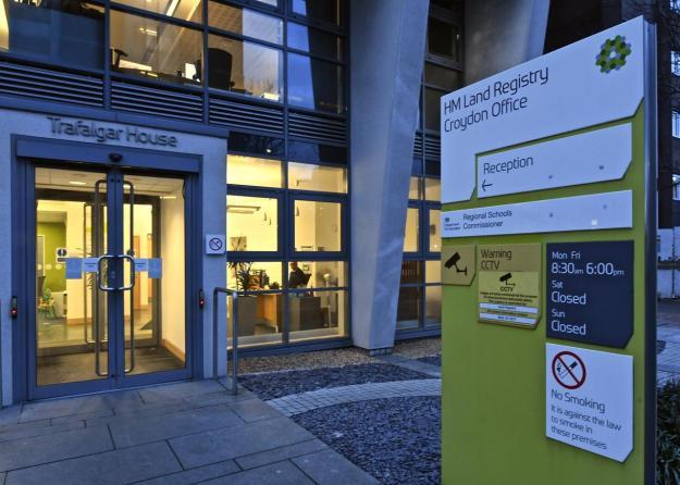 UK Land Registry Office via Law Society Gazette