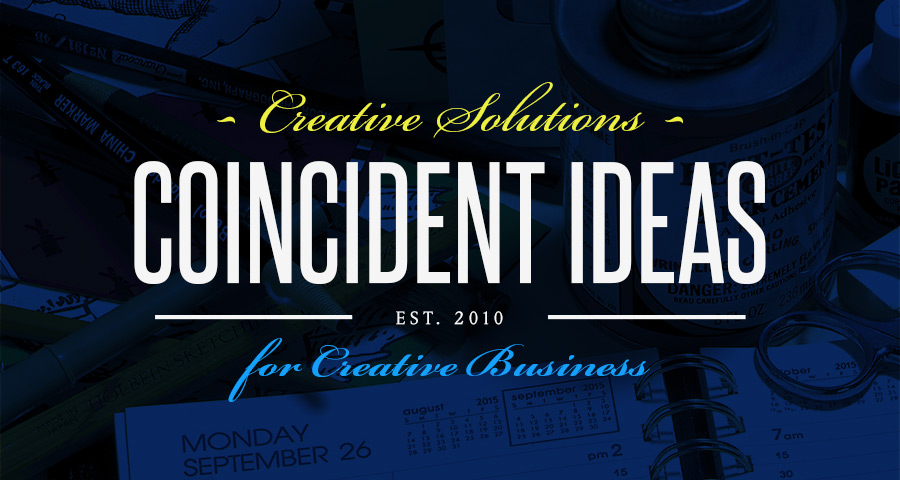 Fresh year, fresh site for Coincident Ideas' redesign