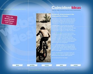 Coincident Ideas original web site