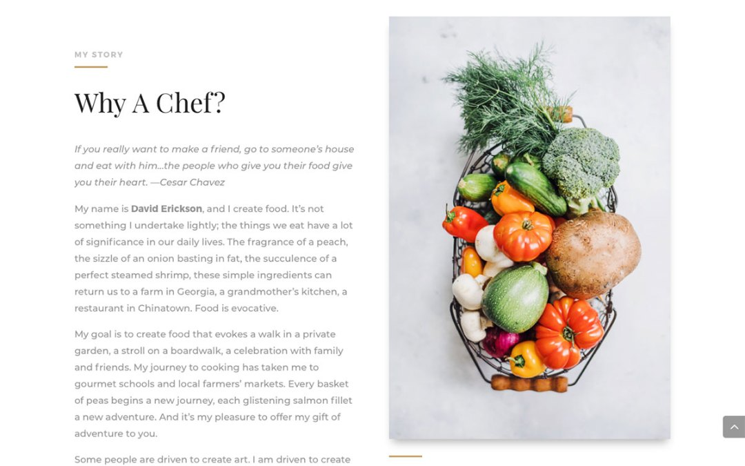 Techie Rebrands as Gourmet Chef With New Food Site