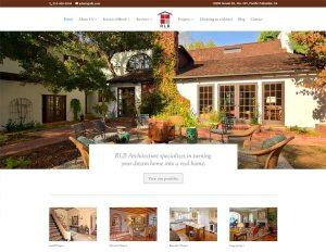 RLB Architecture web site home